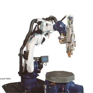 YAGレーザーロボット溶接機導入